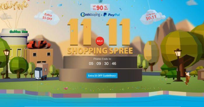 Geekbuying propone sconti fino al 90%!