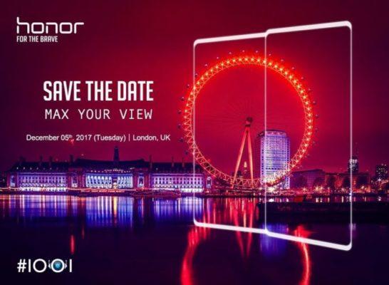 Honor V10 - teaser presentazione