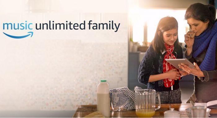 Amazon regala due mesi di Music Unlimited Family fino al 24 dicembre