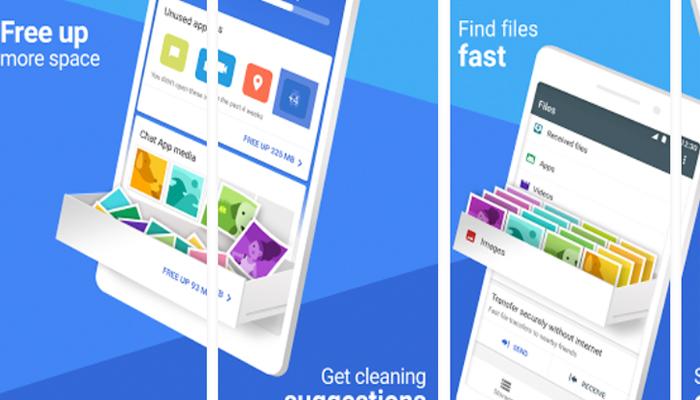 Files Go, il file manager di Google