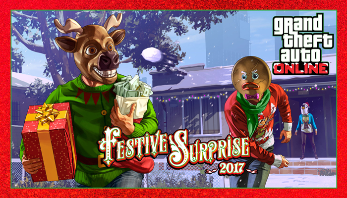GTA 5 Online, la sorpresa festiva 2017