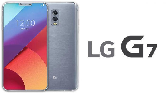 LG G7, render
