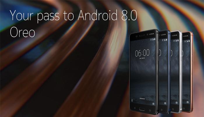 Nokia 6 con Android 8.0 Oreo
