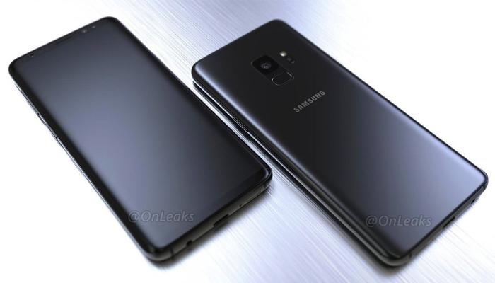 Samsung Galaxy S9 by OnLeaks