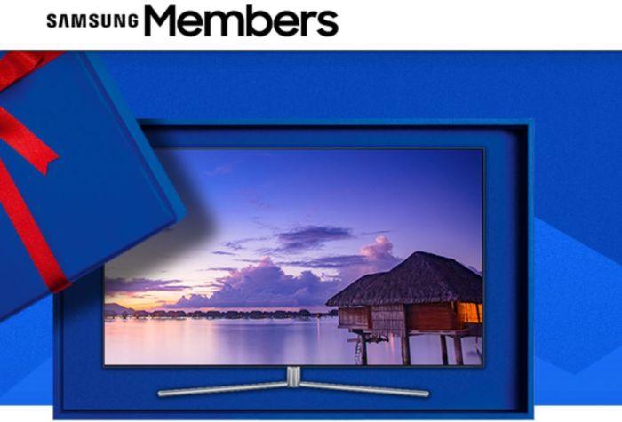 Samsung: il concorso Xmas Giftie con Galaxy S8, Note 8, TV e tanti regali