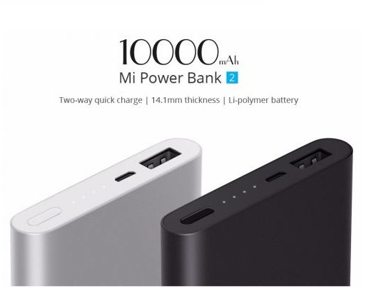 Xiaomi Mi Power Bank da 10.000 mAh a soli 10 euro
