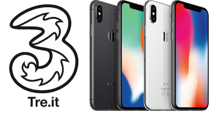 Iphone x 200 euro di sconto acquistandolo con tre italia for Iphone x 3 italia