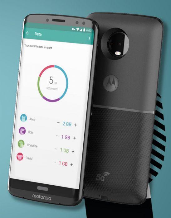 Motorola Moto Z3 e 5G Moto Mod