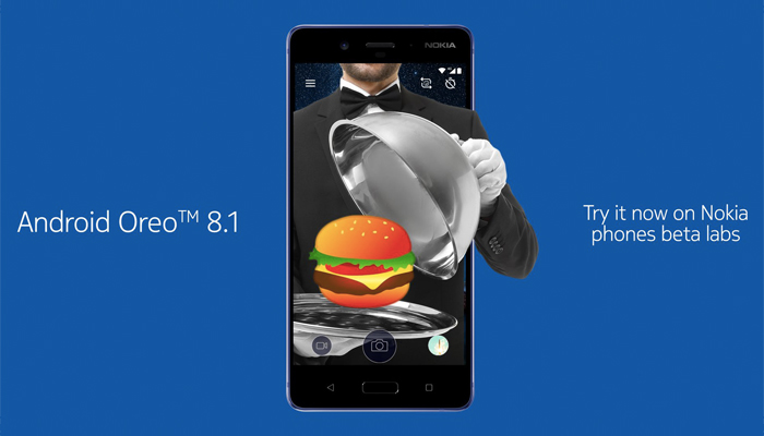 Nokia 8 con Android 8.1 Oreo