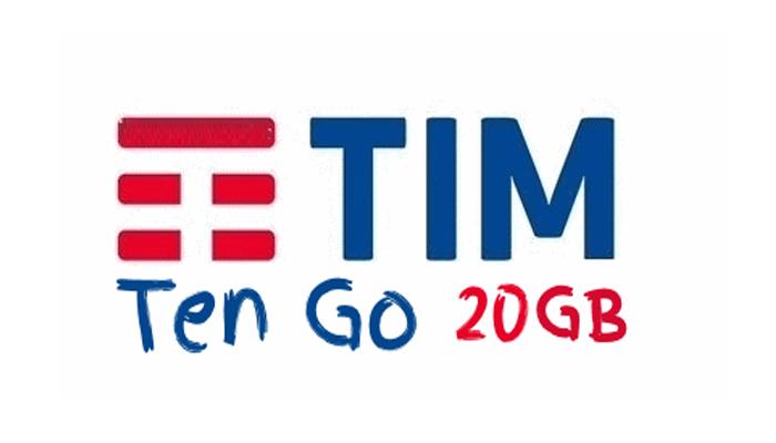TIM Ten GO con 20 GB