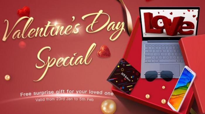 Geekbuying: promo San Valentino