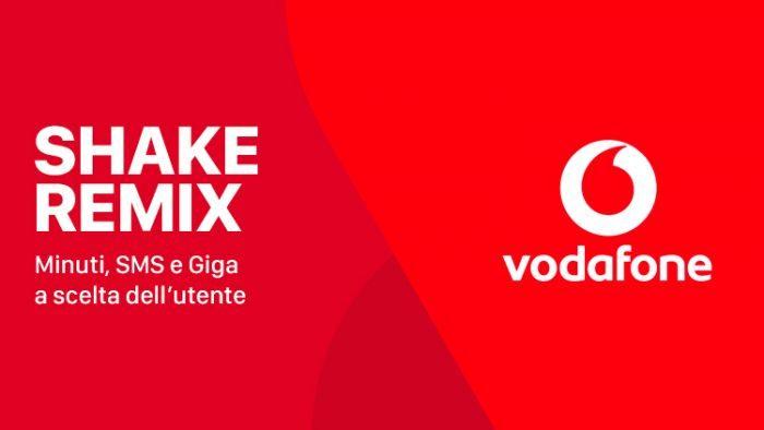 Vodafone Shake Remix vi offre 6 mesi di Pass Social&Chat