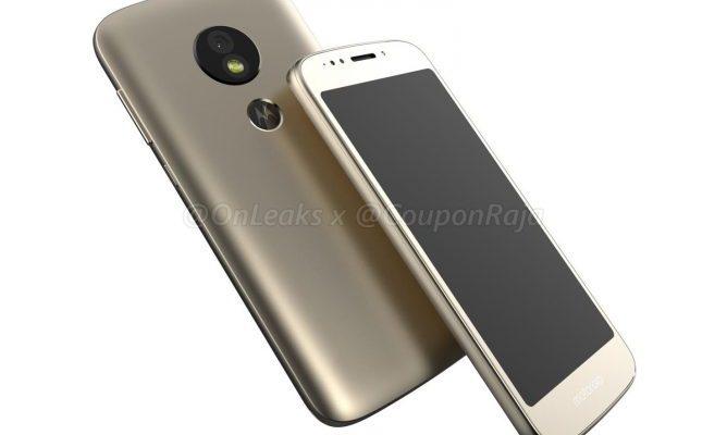 Motorola Moto E5: render