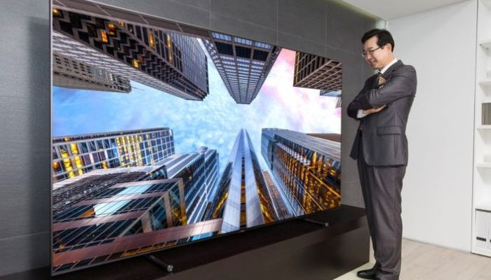 Samsung, in arrivo televisori giganti