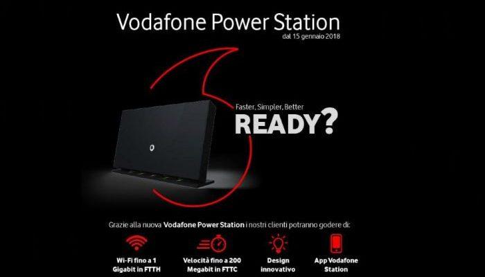 Arriva Power Station di Vodafone e la velocità fino a 200 MB