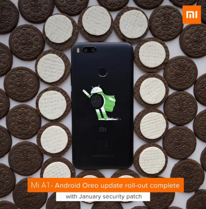 Xiaomi Mi A1: riprende il roll-out di Android Oreo