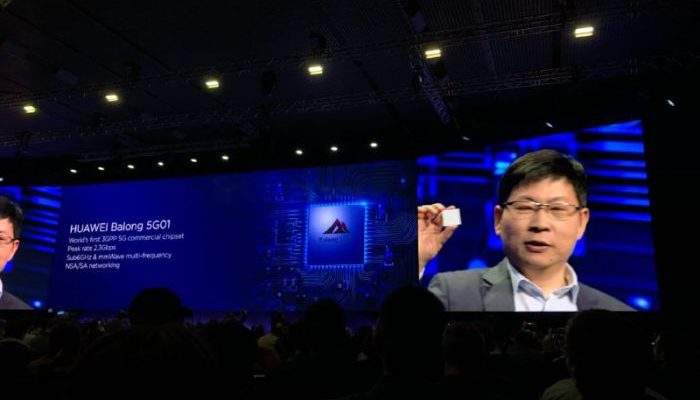 Il primo chipset 5G disponibile in commercio è di Huawei