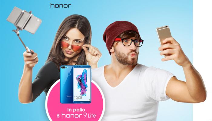 Honor 9 Lite, concorso per vincerne uno
