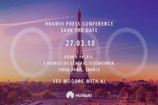 Huawei P20 presentazione