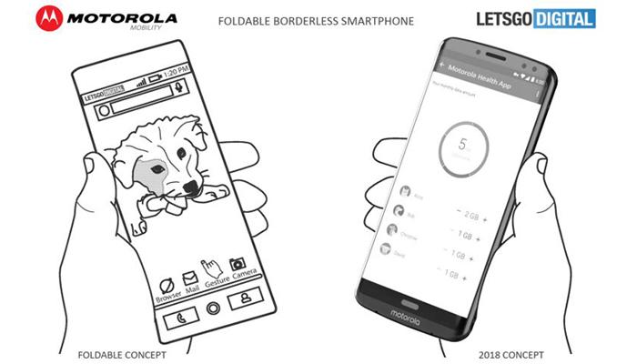 Motorola, il brevetto del display OLED flessibile e senza cornici