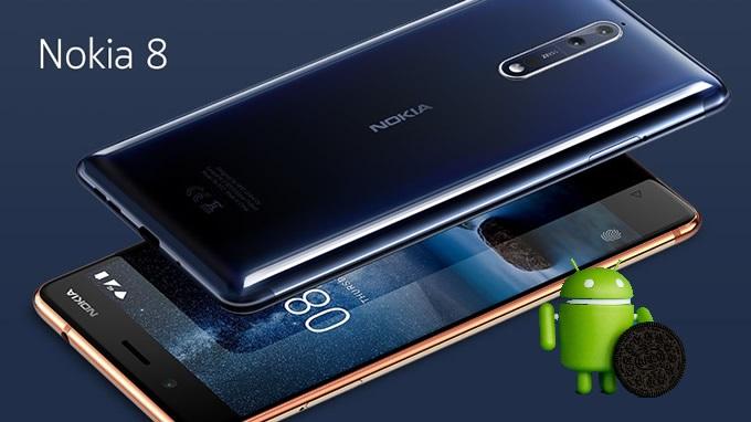 Nokia 8 riceve Android Oreo 8.1