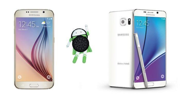 Forse c'è la speranza di vedere Android Oreo su Galaxy S6 e Note 5