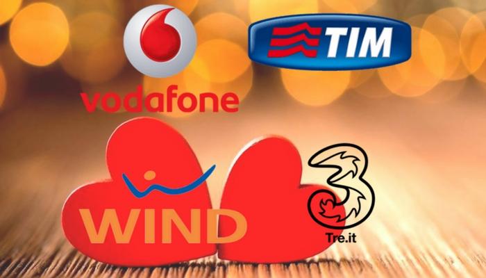Tim, Wind, 3, Vodafone: le migliori offerte di oggi per festeggiare San Valentino