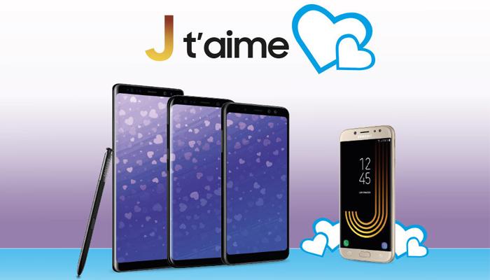 Samsung J T'AIME regala un Galaxy A3 (2017)