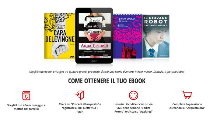 Vodafone Happy Friday, un ebook da leggere gratis