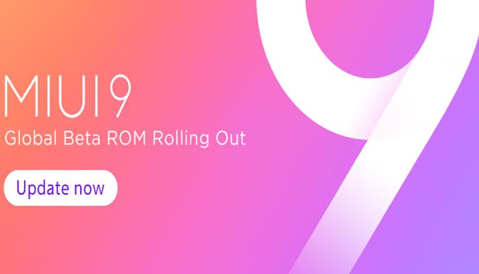 Xiaomi MIUI 9 Global Beta 8.2.1