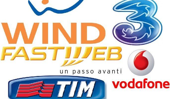 tim wind fastweb tre vodafone