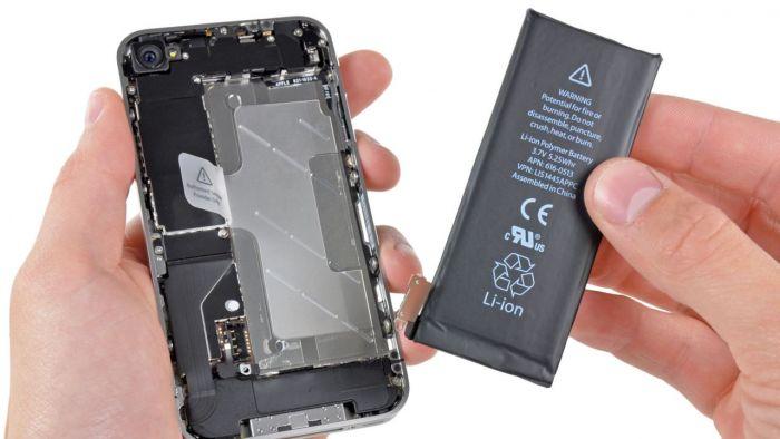 Le batterie degli iPhone di Apple