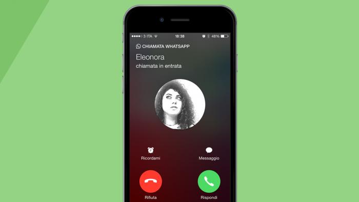 Ecco come fare una chiamata e videochiamata su WhatsApp