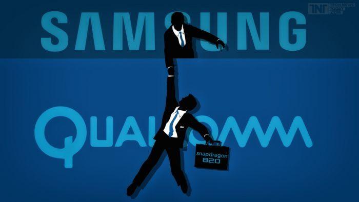 Samsung e Qualcomm firmano un accordo di collaborazione pluriennale