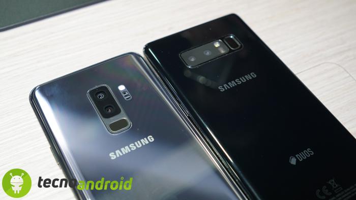 Samsung Galaxy S9 e S9 Plus: Firmware Android 8 0 Oreo disponibile