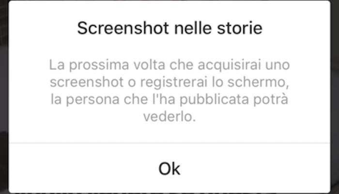 Ecco come raggirare la notifica di screenshot delle storie