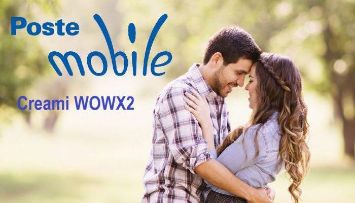 PosteMobile propone Creami WOWX2 per San Valentino