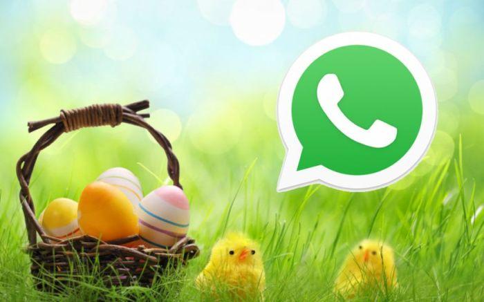 WhatsApp: il trucco per augurare Buona Pasqua a tutti con un solo messaggio