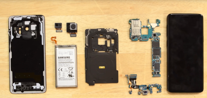 Galaxy S9 teardown iFixit