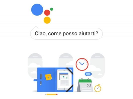Google Assistant italiano