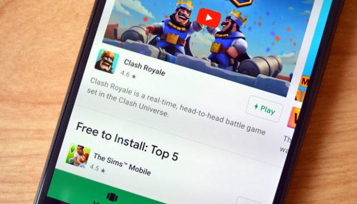 Google Play Instant ha 6 giochi disponibili