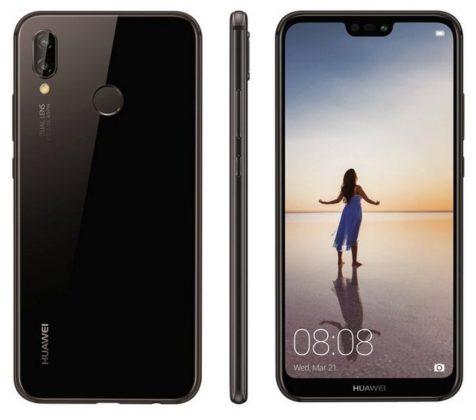 Huawei P20 Lite immagine ufficiale