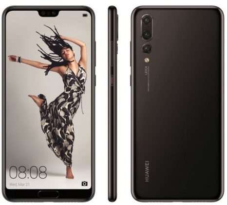 Huawei P20 Pro immagine ufficiale
