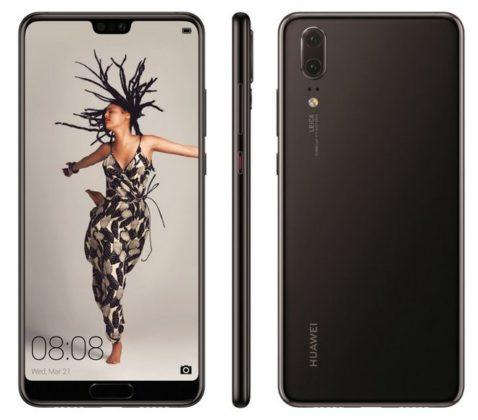 Huawei P20 immagine ufficiale
