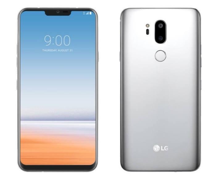 LG G7, render non ufficiale
