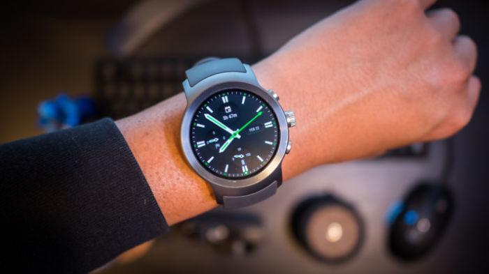 LG Watch Sport smartwatch Android Wear