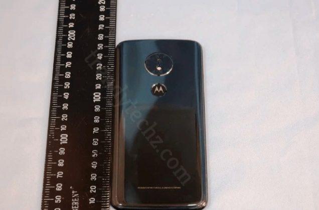 Motorola Moto G6 Play posteriore