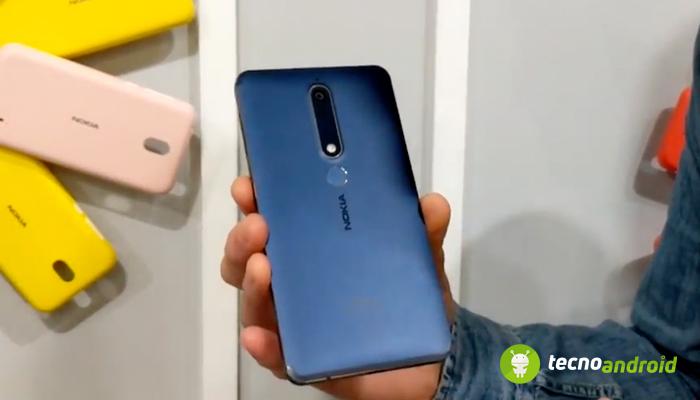 Nokia 6.1 disponibile da metà aprile: caratteristiche e prezzo