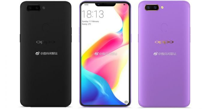 Oppo R15 e R15 Plus con notch in arrivo