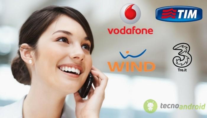 Tim, Wind, Vodafone e 3 Italia: ecco le migliori offerte per il mobile di Marzo